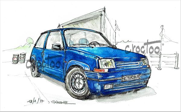 L'Alpine des 80's