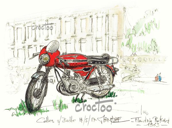 Le cyclo course des 60's