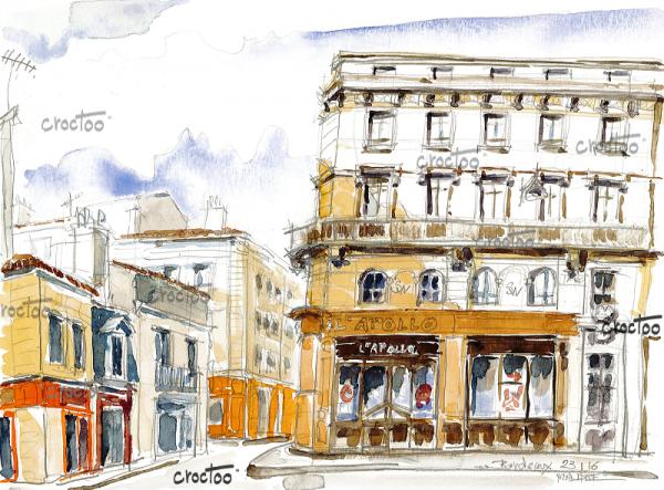 Place Fernand Lafargue, Bordeaux