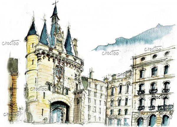 La Porte du Palais, Bordeaux