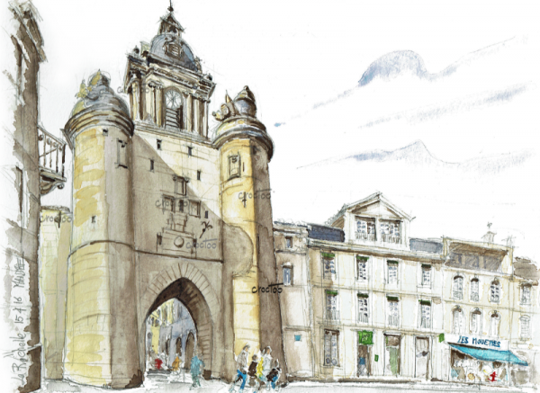 La Tour de l'Horloge, La Rochelle