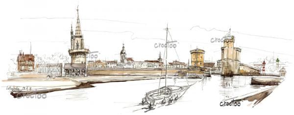L'entrée du vieux port, La Rochelle