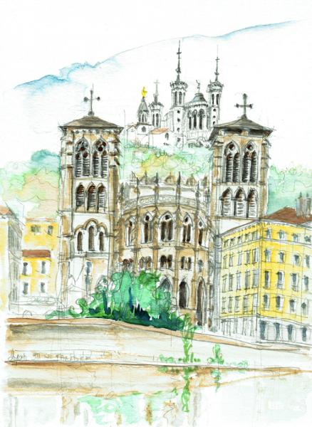 Saint Jean etFourvière, Lyon