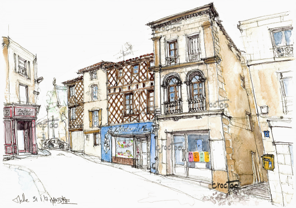 Grande Rue, Melle