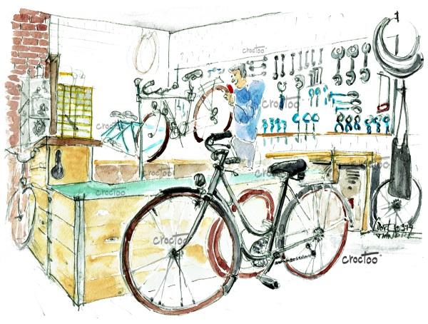 Le beau vélo de Robigo, Niort