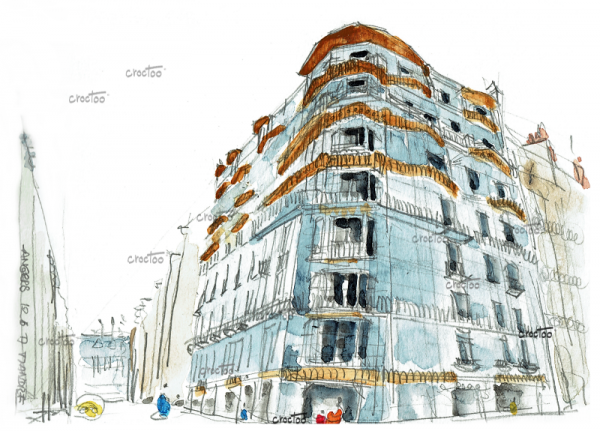 La Maison Bleue, Angers