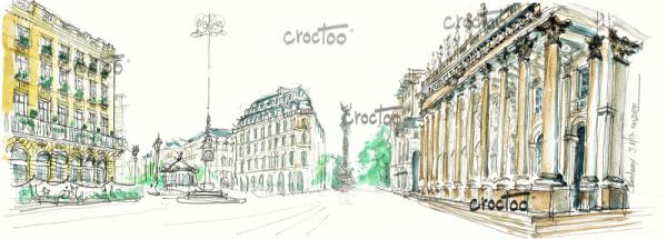 Le Grand Théâtre, Bordeaux