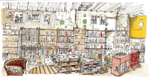 Librairie des Halles, Niort