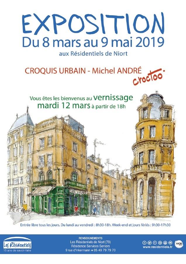 Expo Residentiels Niort 8 mars 9 mai 2019